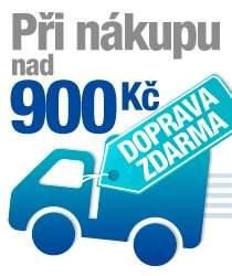 Doprava zdarma při nákupu nad 900 Kč bez DPH