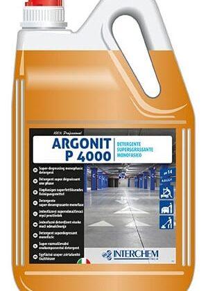 Argonit P 4000 – nepěnivý odmašťující detergent pro očistu podlah 5kg