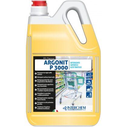Argonit P 3000 – nepěnivý, odmašťující detergent pro očistu mikroporézních podlah, 6kg