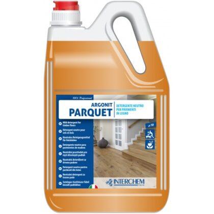 Argonit Parquet – jemný detergent pro dřevěné podlahy, kan/5kg