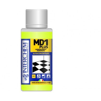 MD1 Plus – Ultra koncentrovaný čistič podlah s citrusovou vůní, dóza 40 ml
