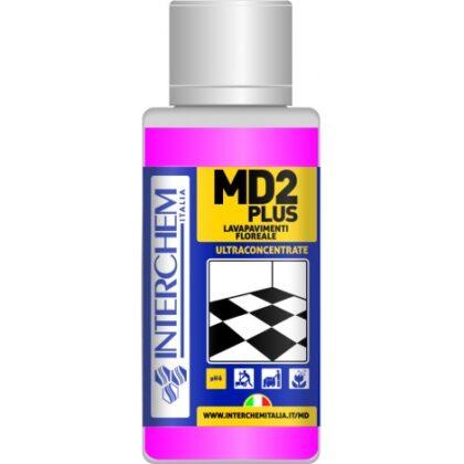 MD2 Plus – Ultra koncentrovaný čistič podlah s květinovou vůní, dóza 40 ml